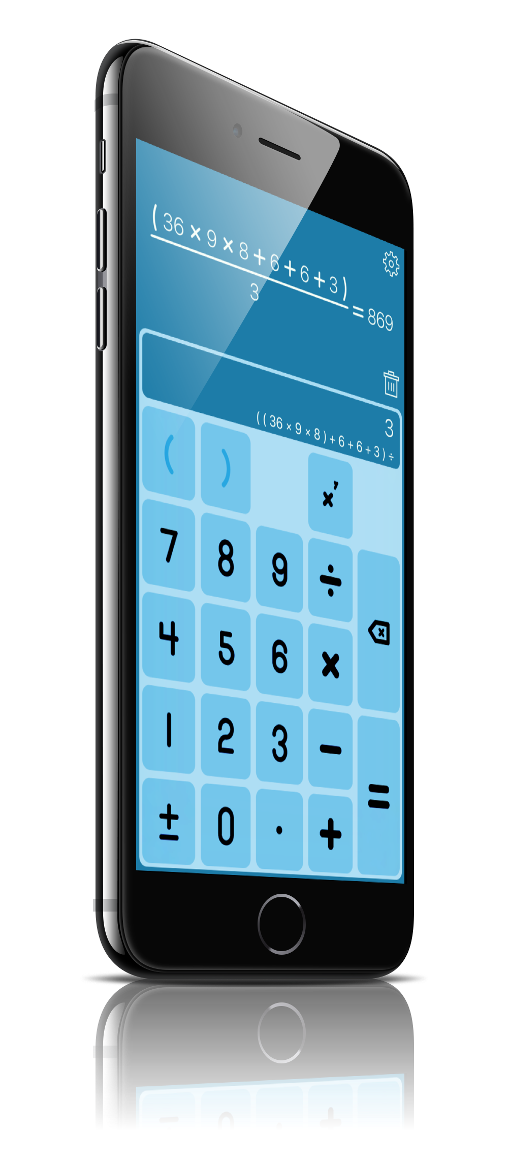 StackCalc for iPhone Screenshot